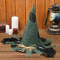 Карнавальная шляпа 'Ведьма', р-р. 56-58 см