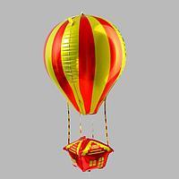 Шар фольгированный фигура 35' 'Воздушный шар' оранжевый (комплект из 5 шт.)