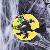 Декорация на хэллоуин 'Ведьма' 100х85 мм
