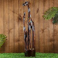 Интерьерный сувенир 'Два жирафа - радуга' 100х19х8 см