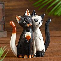 Интерьерный сувенир 'Милая парочка котят' 20 см