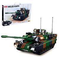 Конструктор Модельки 'Боевой танк', 766 деталей