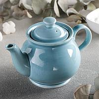Чайник «Акварель», 400 мл, цвет голубой