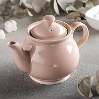 Чайник «Акварель», 400 мл, цвет розовый