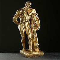 "Фигура ""Геракл"" бронзовый, 15х24х46см"
