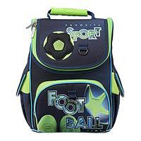 Ранец Стандарт Hatber Balance 32 х 26 х 13, для мальчика FOOTBALL