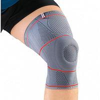 Ортез на коленный сустав, NRG, арт. DKN-203 (L, серый)