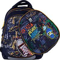 Рюкзак школьный, Kite 700 (2p), 38 х 28 х 16 см, эргономичная спинка, с дополнительной крышкой, Extreme
