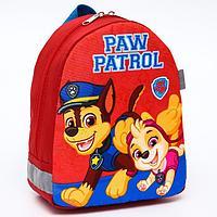 Рюкзак детский 19*9*23, отд на молнии, красный