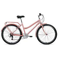 "Велосипед 26"" Forward Barcelona Air 1.0, 2021, цвет бежевый/белый, размер 17"""