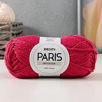 """Пряжа """"Paris"""" 100% хлопок 75м/50гр (07 т.мальва)"""