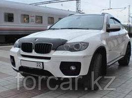 Дефлектор капота SIM для BMW X5/X6 2007-, темный