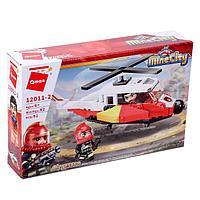 Конструктор Пожарные «Вертолет», 91 деталь и 2 минифигуры