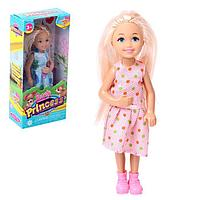 Кукла малышка «Алина» в платье, МИКС