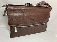 """Мужская сумка-мессенджер через плечо""""JEEP"""". Высота 24 см, ширина 34 см, глубина 6 см., фото 1"""