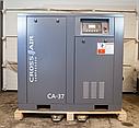 Винтовой компрессор для стяжки 37 кВт Crossair CA 37-10RA, фото 2