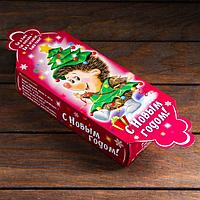 Подарочная коробка 'Ёжик в костюме ёлочки', 35,8 х 11,2 х 5,5 см (комплект из 10 шт.)