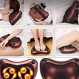 Массажная подушка Massage Pillow  в авто и для дома., фото 7