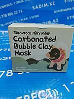 Elizavecca Milky Piggy Carbonated Bubble Clay Mask(Маска для лица Глиняно-Пузырьковая)
