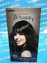 B Happy ( 8G ) - Краска для волос - черный шелк