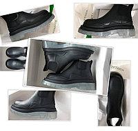 Ботинки Челси с контрастной подошвой р.37