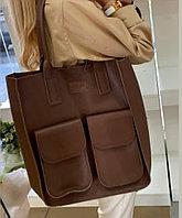Женская итальянская сумка шоппер