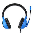 """Гарнитура игровая Gembird MHS-G50, """"Survarium"""", черный/синий, регулировка громкости, отключение микрофона"""