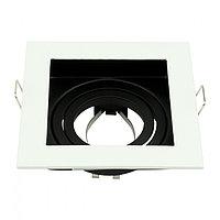 Точечный светильник квадратный со сменной лампой, фото 1