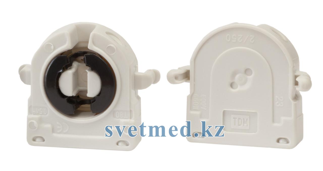 Патрон торцевой поворотный на защёлке для ламп G13