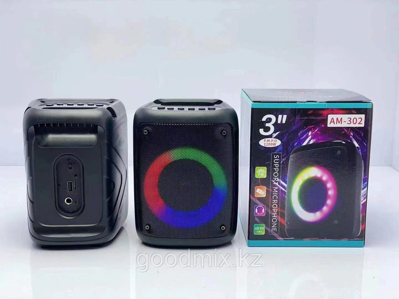 Портативная Bluetooth колонка AM-302