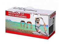 Массажер для шеи, спины и плеч с инфракрасным прогревом Massager of Neck Kneading оптом и в розницу