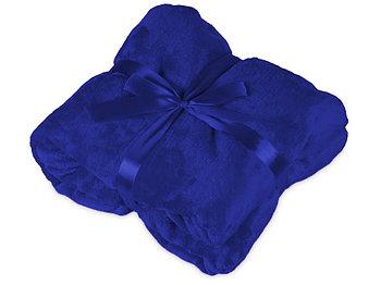 Плед мягкий флисовый Fancy, темно-синий