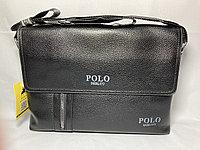 "Мужская сумка-мессенджер""POLO"" через плечо. Высота 24 см, ширина 34 см, глубина 6 см., фото 1"