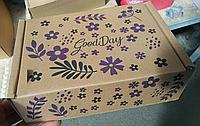 Коробка картонная самосборная Good Day 24x19x8 см