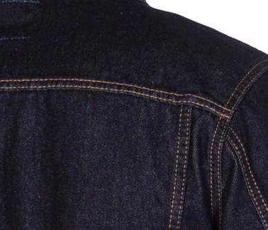 """Джинсовая мужская куртка """"Koutons"""" (размер 2XL / 52) - фото 8"""