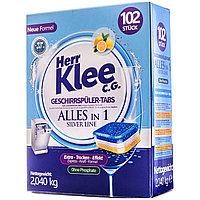 Таблетки для посудомоечной машины Herr Klee Silver Line таблетки, 30 шт