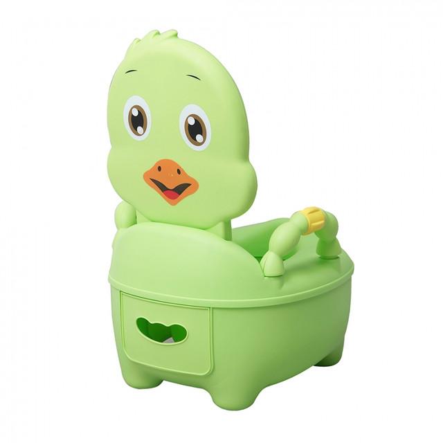 Детский горшок Pituso Цыпленок Зеленый 1713