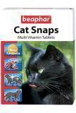 Beaphar Cat Snaps 75 т мультивитаминная добавка