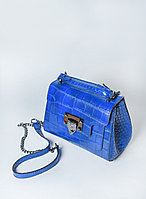 Женская итальянская сумка на длинном ремешке