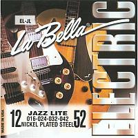 Струны для 6 струнной электрогитары 12-52 La Bella EL-JL