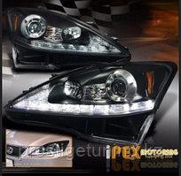 Передние фары на Lexus IS 2006-12 Дымчатые (вариант 1)
