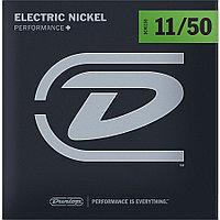 Комплект струн для электрогитары, никелированные, 11-50, Dunlop DEN1150