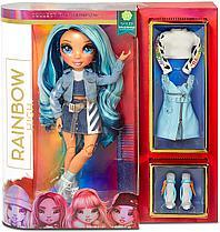 Кукла Реинбоу Хай Rainbow High Skyler Bradshaw голубой цвет