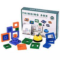 Дидактическая игра выложи по образцу рисунок из квадратов, со звонком