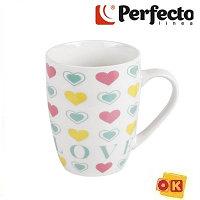 Кружка керамическая, 360 мл, Love-3, PERFECTO LINEA