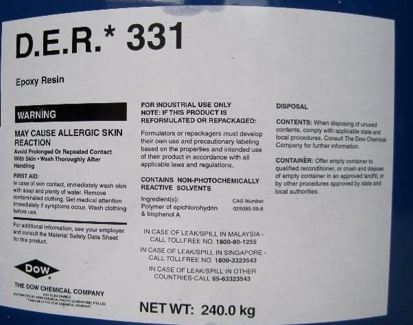 Эпоксидная смола D.E.R. 331