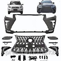 Передний бампер на Toyota RAV4 2008-10 дизайн Lexus