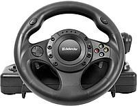 Руль игровой Defender Forsage Drift GT черный