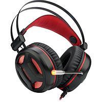 Наушники-гарнитура игровые Redragon Minos красный + черный