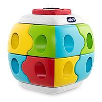 Chicco: Игрушка развивающая конструктор 2 в 1 Куб 18м+